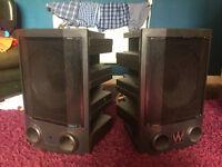 Warfedale Force 9 PA speakers