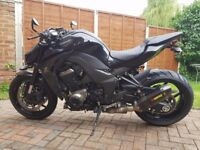 Kawasaki Z1000 ABS special edition stealth black
