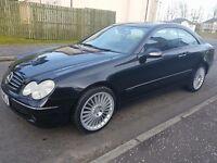Mercedes clk 270 cdi avantgarde 2004 diesel automatic