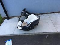 Besafe Izi isofix and car seat