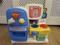 Little tikes baby kitchen playset shape sorter
