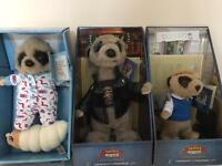 MeerKat toys Baby Oleg, Vassily & Bogdan. All with Certs.