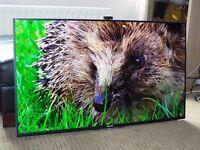 """SONY KD49X8505BBU 49"""" Smart 3D LED Ultra HD 4K TV X-Reality PRO, Built-In Wi-Fi Triluminos display"""