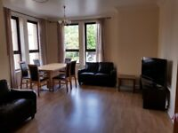 2 bedroom modern flat in West End with car parking space