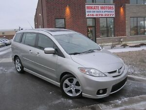 NICE 2007  MAZDA 5  CERTIFIED & EMISSION TESTED $4,999.00