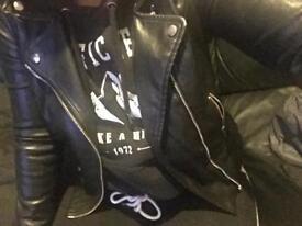 Zara jacket (leather)