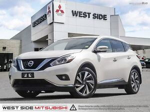 2017 Nissan Murano Platinum–Accident Free–One Owner–Navigation–A