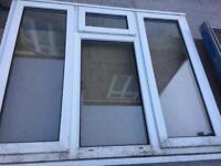 Large double glazed window