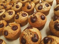 Roll up !! Get fresh tasty muffins for your work meeting, cafe, party or simply fancy a treat !