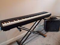 Yamaha P-85 Portable Digital Piano with Proformance Amp