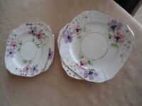 T F and S Ltd Phoenix china plates