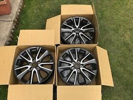 Mazda CX-3 (5x100) Wheels for sale, 3 available can sell separately