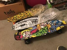 Retro school skateboard