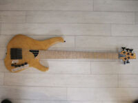 Lightwave 5 String Saber VL bass, Fretted. not Fender Musicman Ernie Ball Overwater