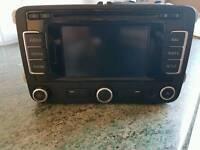 VW satnav radio