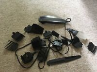Babyliss shaving device with all attachments and bag
