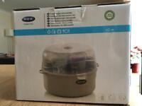 Microwave steriliser