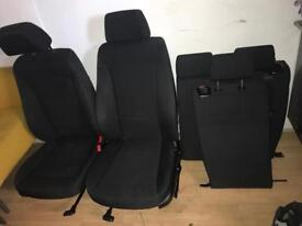 BMW 1-Series seats front + back