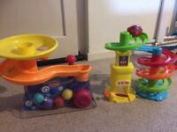 Collection of toddler toys