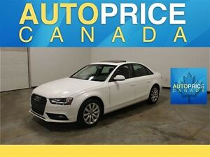 2013 Audi A4 QUATTRO|MOONROOF|LEATHER