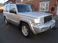 2007 JEEP COMMANDER 3.0 CRD V6 LIMITED 4x4 5dr 4WD DIESEL AUTOMATIC 7 SEATER