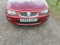 ROVER 25 FACE LIFT IN RED BREAKING FOR ALL PARTS 205/50/16