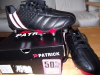 rugby boots new 9.5