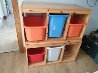 Ikea storage cupboards x 2