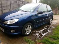 Peugeot 206 only 66,000 miles and mot till march 2019 swap
