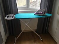 Russel Hobbs iron and ironing board