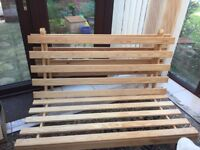 Futon Double Bed Frame for sale