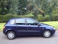 FIAT STILO 1.6 2003 5 MONTHS MOT VERY CLEAN CAR 1 OWNER SINCE 2009