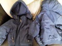 2 boys coats 3/4 and 5/6