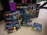 Lego dimensions starter pack & Simpsons set for PS3