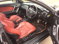 Hyundai Coupe 2.0 SIII SE 3dr, 6 MONTHS FREE WARRANTY, RED LEATHER SEATS, FULL SERVICE HISTORY