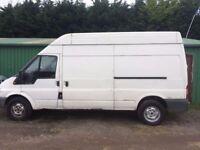 Ford Transit LWB Van 2.4 - Sold as spares or repairs ONLY
