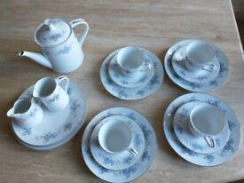 Vintage Royal Ceramics Japan 641 Maxine Tea Set 18 Pieces