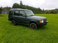 7 seats Diesel automatic Land Rover Discovery 300tdi all terrain jeep ,TOW BAR px welocme