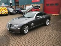 08 Plate Chrysler Crossfire 3.2 Coupe - 2 DR - Auto - Petrol - Genuine Low Mileage - 1 Lady Owner