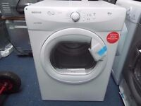 EX-DISPLAY WHITE HOOVER 7 KG VENTED TUMBLE DRYER REF: 31151