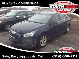 2011 Chevrolet Cruze LT Turbo, SUNROOF, WELL EQUIPPED!!!