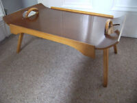 Vintage Paragon Bed-table