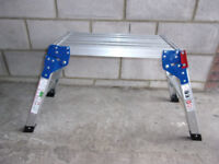 Hop UP, brand new, usefull, portable, foldable, sturdy work platform