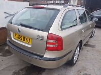 SKODA OCTAVIA ELEGANCE 1.9 TDI,,,SOLD AS SPARE OR REPAIR,,RUNS AND DRIVES (ANY OLD CAR PX WELCOME )