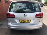 £210.00 UBER READY VOLKSWAGEN 2016/2017 YEAR MODEL | 7 Seater | AUTOMATIC | DIESEL | PCO HIRE | RENT
