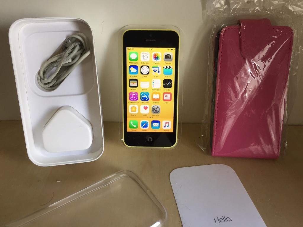 iPhone 32gb Vodafone Networkin Plymouth, DevonGumtree - Yellow iPhone 5c 32gb in a good condition and working phone on Vodafone Network. Screen is in good condition as well as the back with only a few minor marks on the cover nothing noticeable. Comes complete with charger and box and a free brand new...