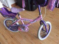 Girls princess cosmic bicycle