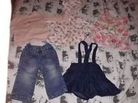 6-9 months small girls bundle