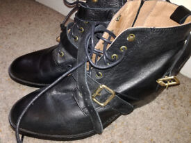 'Office' black, Excellent brand new, never worn Black Boots.