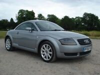 2006 AUDITT 1.8T coupe grey. Full service history, cam belt & water pump, yrs MOT, great condition